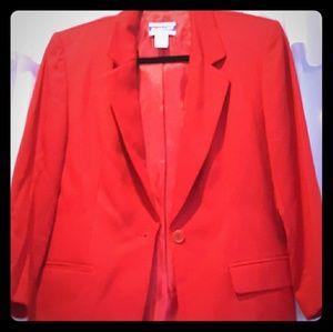 Pendelton Red womans blazer~ vintage